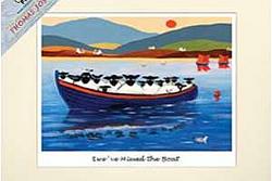 sheep in boat