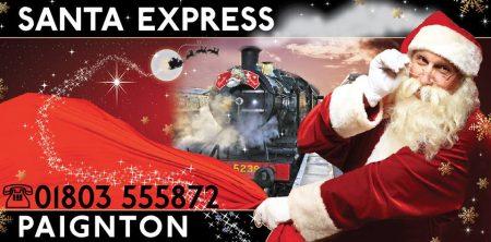 Dartmouth Steam Railway ~ Santa Express @ Dartmouth Steam Railway   Paignton   England   United Kingdom